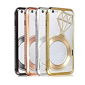 ZL Set Auger Pattern Metal Cover for iPhone 6 Plus(Assorted Colors) , 1#