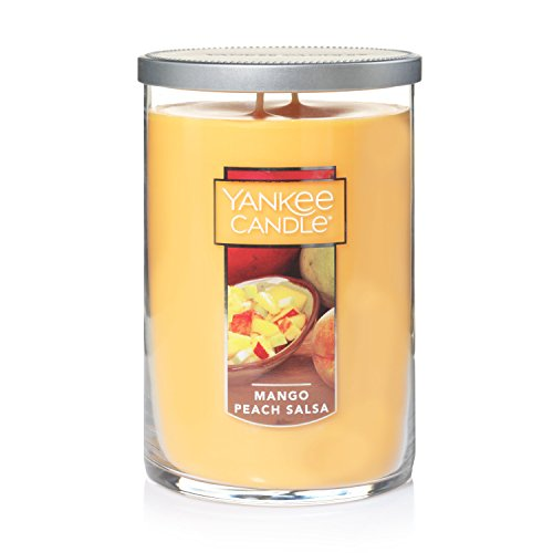 Yankee Candle Large 2-Wick Tumbler Candle, Mango Peach Salsa