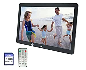 Amazon.com : XRONG 15-Inch Digital Photo Frame & HD Video ...