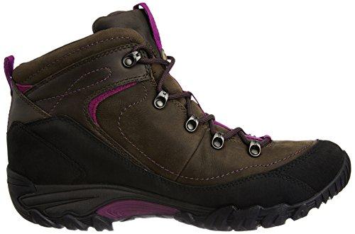Merrell CHAM ARC 2 RIVAL WATERPROOF J68064 - Zapatillas de senderismo de cuero nobuck para mujer Marrón