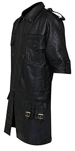 Giacca Lucis Fashion first Vera Pelle Noctis Xv Nera Fantasy Final Caelum RzwRfX