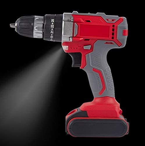 Electric Drill Cordless Hand Drill Electric Screwdriver for Walls Doors Windows Toys for Home Improvement DIY Project