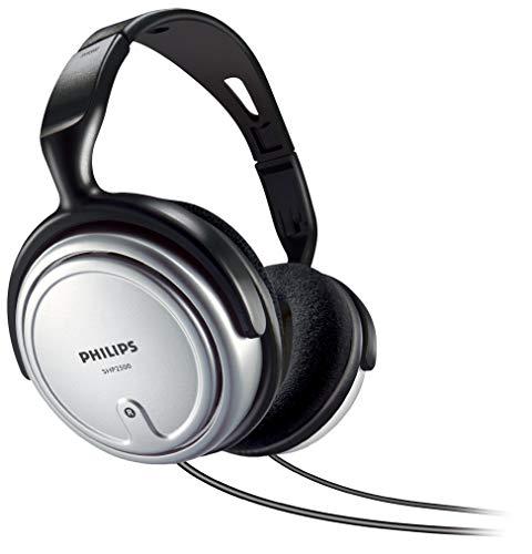 Philips SHP2500/10 HiFi TV hoofdtelefoon met kabel, uitstekend geluid, geluidsisolatie, ideale pasvorm, geïntegreerde…
