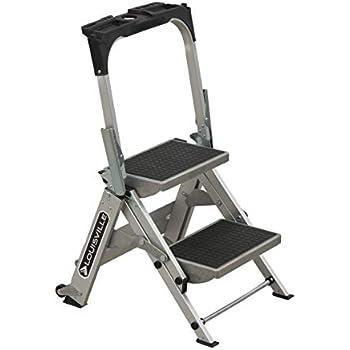 Amazon Com Louisville Ladder 2 Foot Step Stool 300 Pound
