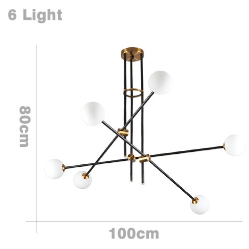 TIANLIANG04 led bulbs Pendant Lights Hanglampen Voor Eetkamer G9 Led ...