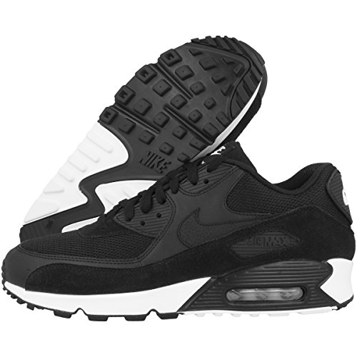 Black Max Essential Chaussures Black de 077 White 90 homme Noir NIKE running Air Bqx5Sv