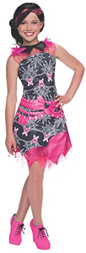 Rubies Monster High Fright Camera Action Draculaura Costume, Child Large -