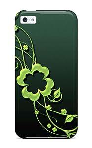 New TzUlrAr9462wUlSE Happy St Patricks Art Tpu Cover Case For Iphone 5c