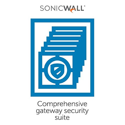 Comprehensive Gateway Security Suite Bundle for the SonicWall TZ 205 - 3 Years