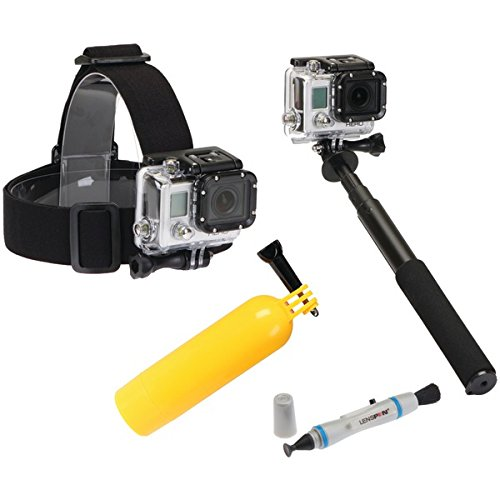 Sunpak Action-4bb-2 4-piece Action Camera Accessory Kit