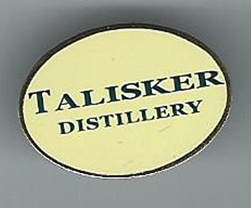 TALISKER SCOTCH MALT WHISKY LAPEL PIN/PIN BADGE (GLENCAIRN)