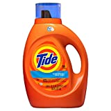 Tide Clean Breeze Scent HE Turbo Clean Liquid Laundry Detergent, 64 loads, 100 fl oz (Packaging May Vary)