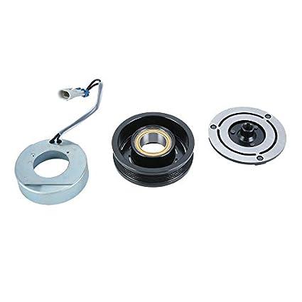 Yogasada Coches Aire Acondicionado AC Compresor con Embrague 19192401 para Opel Astra 24432392 Profesional AC Compresor