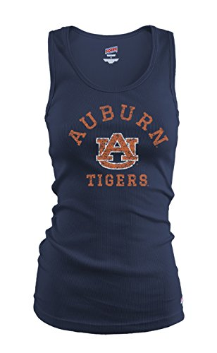 (NCAA Auburn Tigers Junior Classic Collegiate Logo Tank Top, Large)