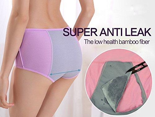 Qikafan - Shorts - para mujer UKNK9824 Mixed 5 Pack