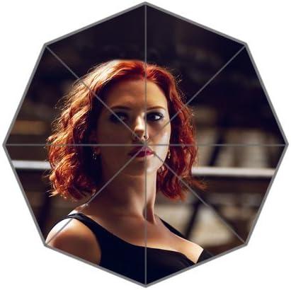 Rainbowrain Avengers Natasha Scarlett Johansson Sexy Hero Custom Foldable Umbrella 01 Amazon Ca Patio Lawn Garden