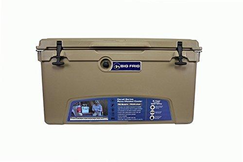 Cheap Big Frig Sand Denali Cooler (75 Quart) Bundle includes Cutting Board/Divider, Basket, 5 Year Limited Warranty