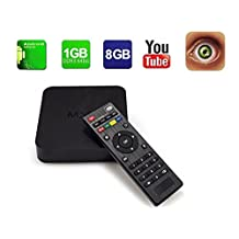 2017 Top Quality Original MXQ Smart Android TV Box Quad Core Amlogic S805 1GB 8GB Set Top Box Support 4k Full HD H.265 Wifi