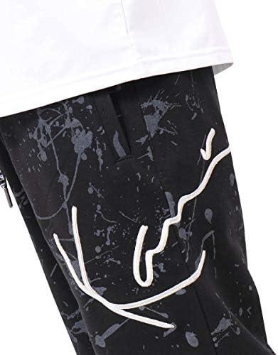 [カールカナイ] Karl Kani パンツ スプラッター 総柄 ミニ裏毛 ショーツ 192K1910