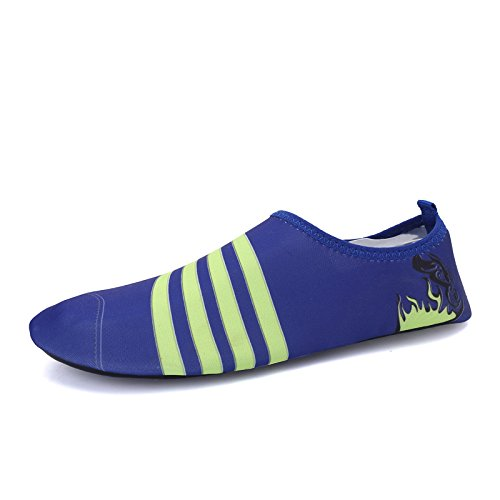 funcional clásico Zapatos al y transpirable multi buceo suave libre S 168 azul natación aire deportes elástica de Lucdespo playa zapatos 1vUdxq44