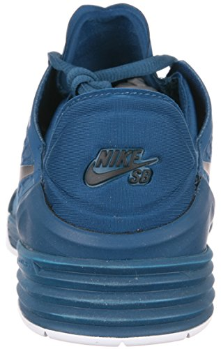 And White Mesh Men's Force 8 Blue Paul Sneakers Nike Leather Rodriguez Black 4TaX7w4xq