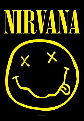 LPGI Nirvana Smiley Face Fabric Poster, 30 by (Smiley Face Posters)