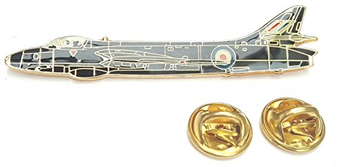 Hunter Avion Latéral Vue Badge Épinglette En Émail