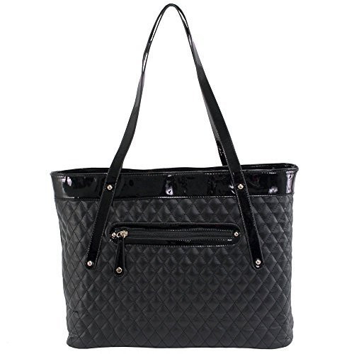 parinda-womens-fiona-quilted-carry-all-tote-black-by-parinda