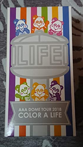 AAA DOME TOUR 2018 COLOR A LIFEペンライト初日のみ使用超