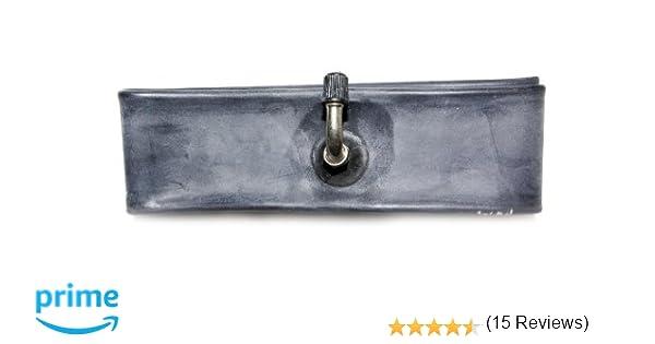 RUBENA Schrader - Cámara con válvula para Rueda de Bicicleta (25,4 x 4,45 x 5 cm), Color Negro