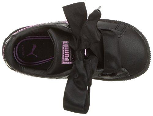 Pictures of PUMA Unisex Basket Heart Bling Kids Sneaker 36684801 2