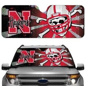 - Nebraska Huskers Auto Sun Shade