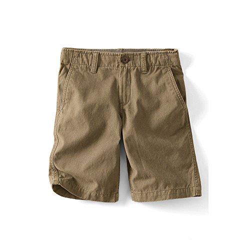 Lands' End School Uniform Boys Husky Cadet Shorts, 14, Light Beige - Lands End School Uniforms