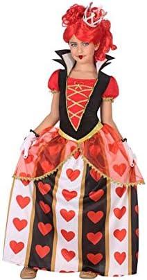 Atosa-56871 Disfraz Reina Corazones, Color Rojo, 5 a 6 años (56871 ...