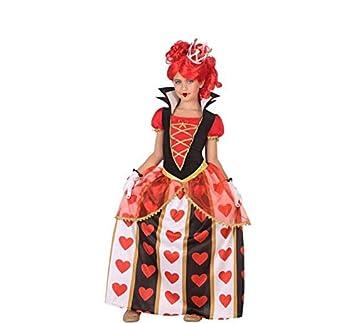 Atosa-56870 Disfraz Reina Corazones Color Rojo 3 a 4 años (56870 ...
