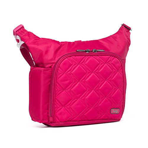 Lug Life Sidecar Cross Body Bag and Waist Pack, Rose Pink