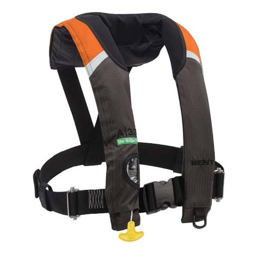 Kent A-33 Automatic Stole Insight Inflatable Vest - Orang...