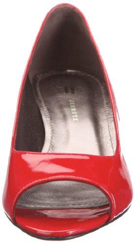 para Zapatos Farrutx mujer clásicos 41284 toe Rojo Pee 7wqqAXf