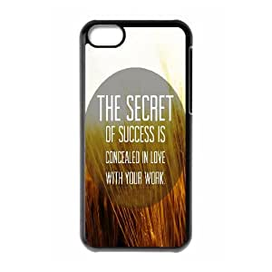 Cases for IPhone 5C, Secret to Success Cases for IPhone 5C, Psychedelic Anime Black