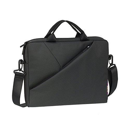 AD Laptop Shoulder Bag, 15.6 Inch Water Resistant Messenger Bag Handbag Outdoor Travel Briefcase Computer Case With Shoulder Strap For Laptop by Avant Digital