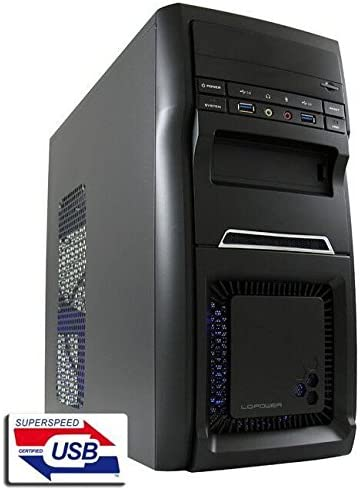 LC-Power LC-2000MB Carcasa de Ordenador Micro-Tower Negro 420 W ...