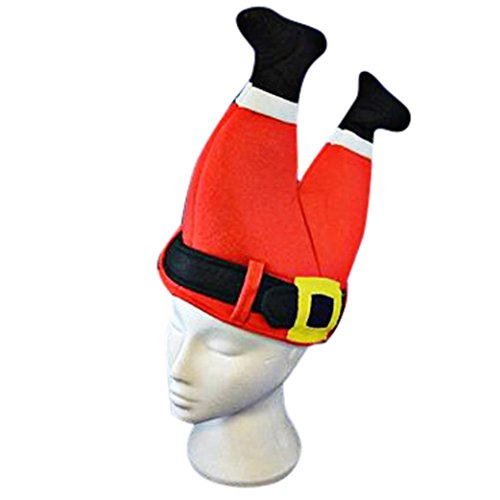 Morecome Xmas Hat Christmas Old Man Trousers Hat Home Decor