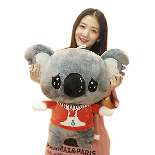 Animal Toys Stuffed Koala Bear Pillow Toy (Gray) ()