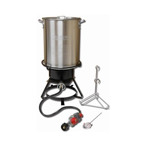King Kooker 1229 29 Qt Aluminum Turkey Frying Cooker Package by King Kooker