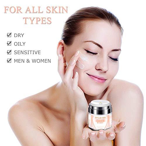 41Vpeb liGL - Face Moisturizer Anti-Wrinkle Retinol Cream Treatment with Combination of Green Tea, Vitamin E and Organic Aloe,Day and Night Anti Aging Eye Cream for Face and Eye 1.7 fl oz