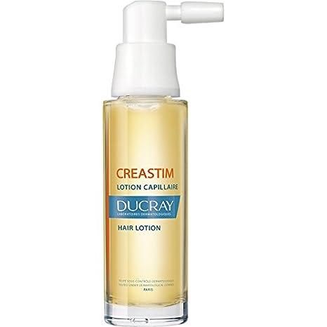 Ducray CREASTIM nuevo anti pérdida de cabello Loción acelera el crecimiento del cabello 2 x 30 ml: Amazon.es: Belleza