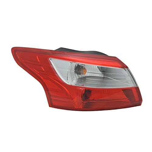 GetAllParts New Aftermarket Driver Side Rear Tail Lamp Lens and Housing DM5Z13405E ()