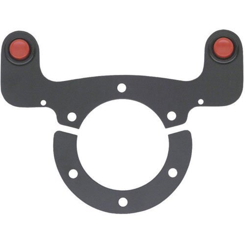 (Sparco 015NE982 External Horn Button Kit Mounts Between Hub Adapter & Wheel 2 Bu)