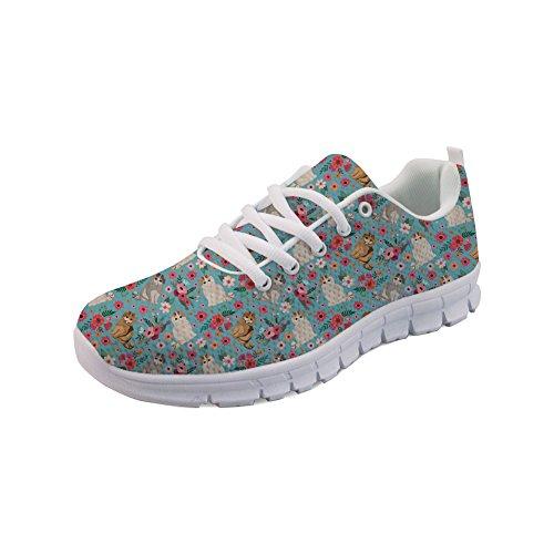 para Showudesigns 4 Zapatillas Mujer Color p6Z5q