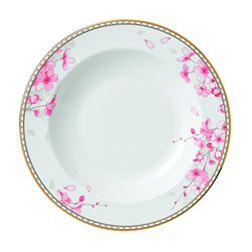 Wedgwood Spring Blossom Rim Soup Plate, 9'' by Wedgwood
